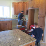 granite, countertop install helpers