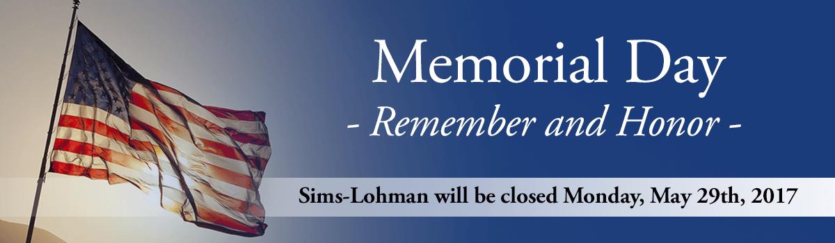 Memorial day slide