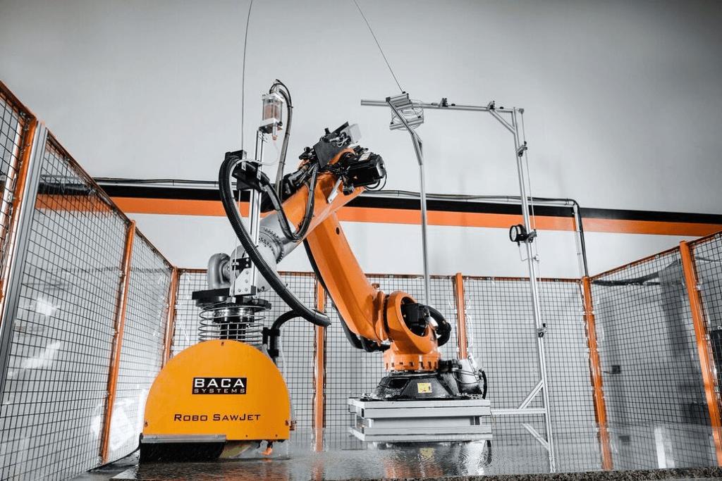 New High Tech Sawjet Installation In Cincinnati Hq Sims