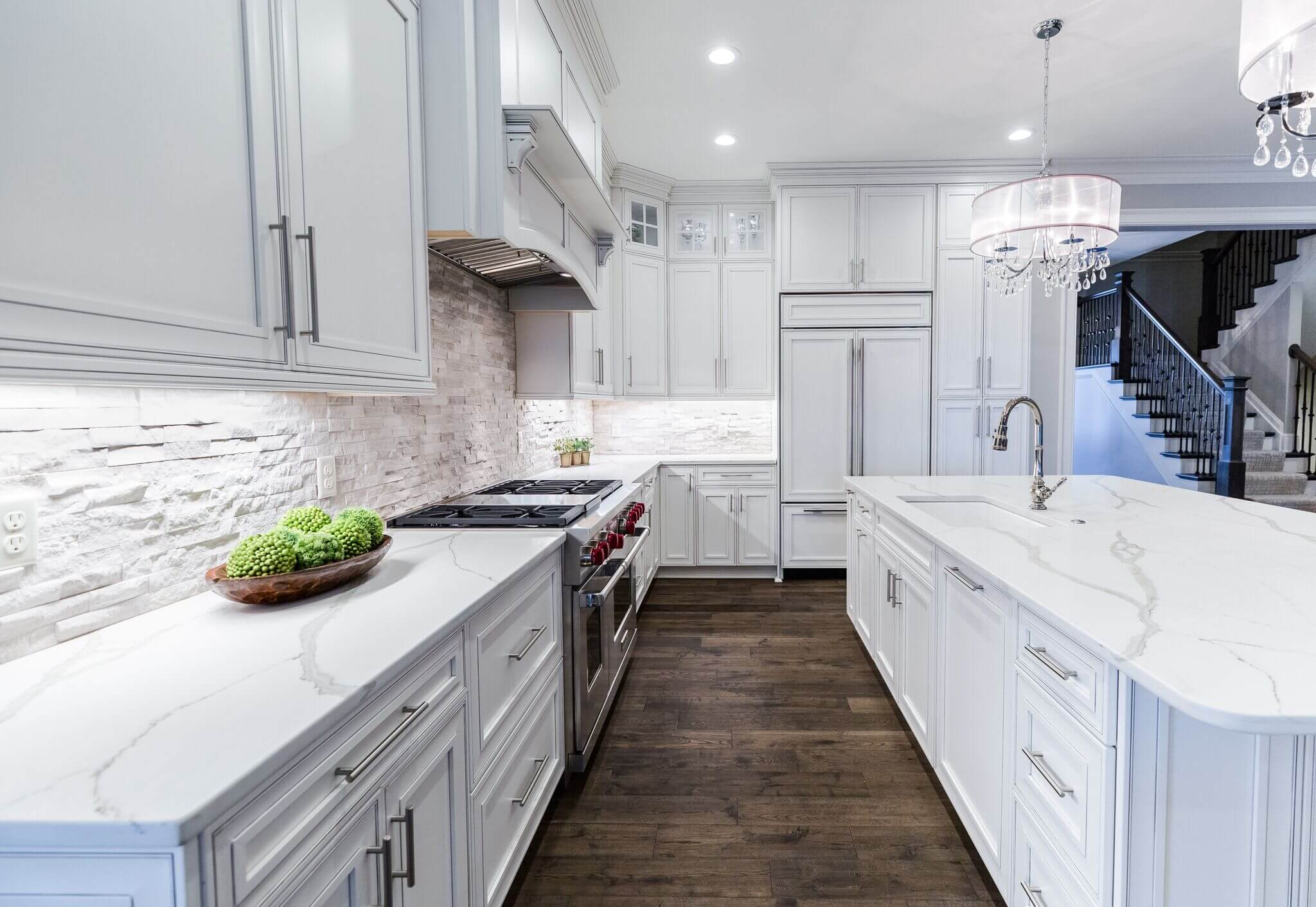 West Side Home Showcase Sims Lohman Fine Kitchens And Granite