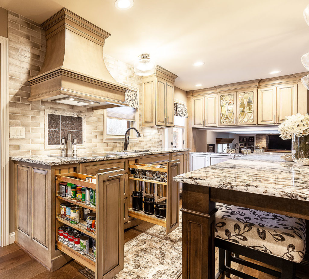 Custom Pullout Cabinetry