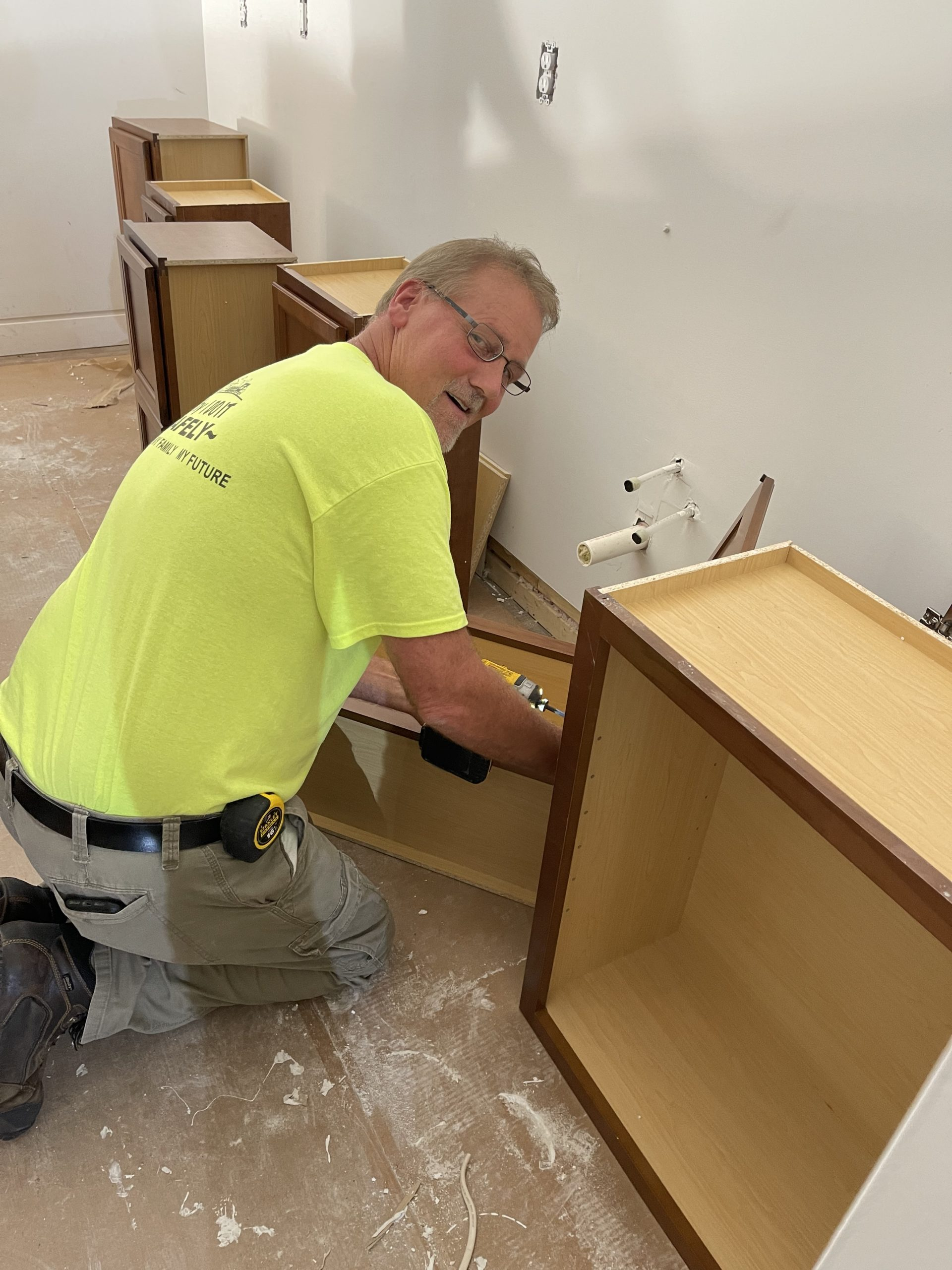 Cabinetry, Installation, Sims-Lohman